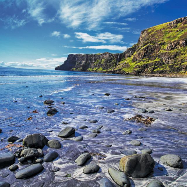 """Talisker Bay"" stock image"