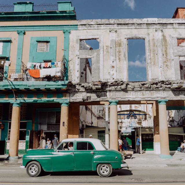 """Havanna Street"" stock image"