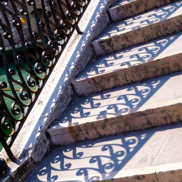 """Stairs Venice"" stock image"