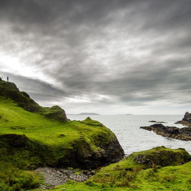 """Castle Gylen on Kerrera."" stock image"