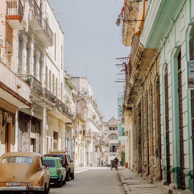 """""""cuban street life"""" stock image"""