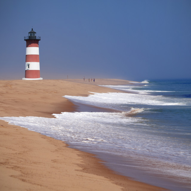 """Lighthouse on Cape Cod"" stock image"