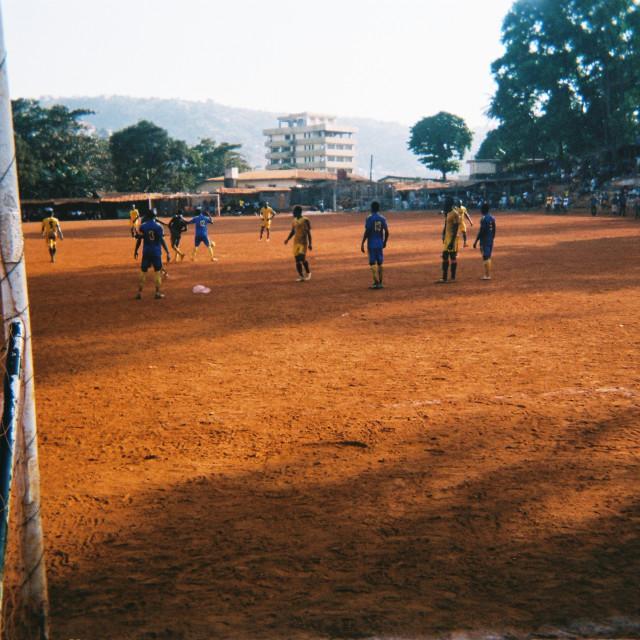 """Freetown Football"" stock image"