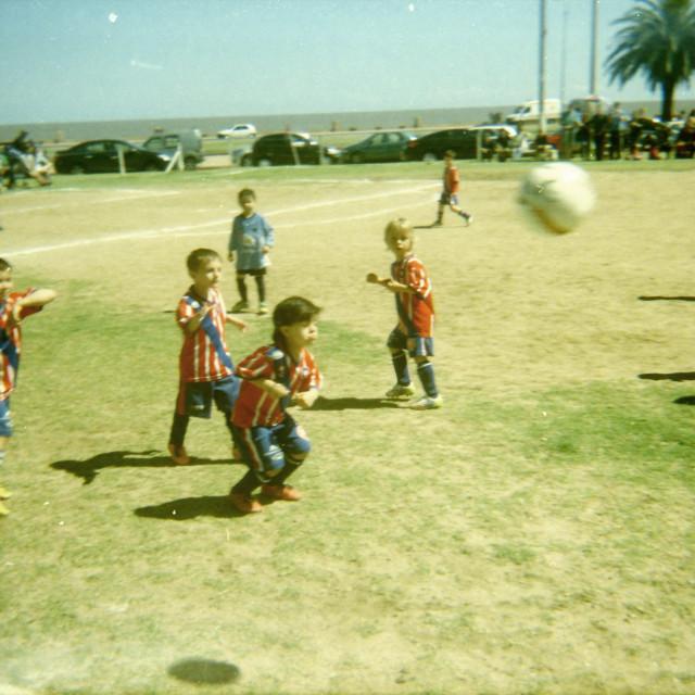 """Baby Futbol"" stock image"