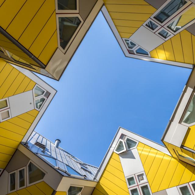 """Cube Houses Rotterdam Blom"" stock image"