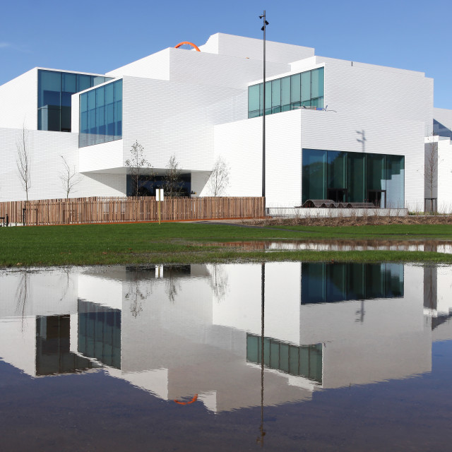 """The lego house in Billund, Denmark"" stock image"
