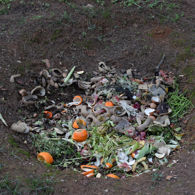 """pit composting"" stock image"