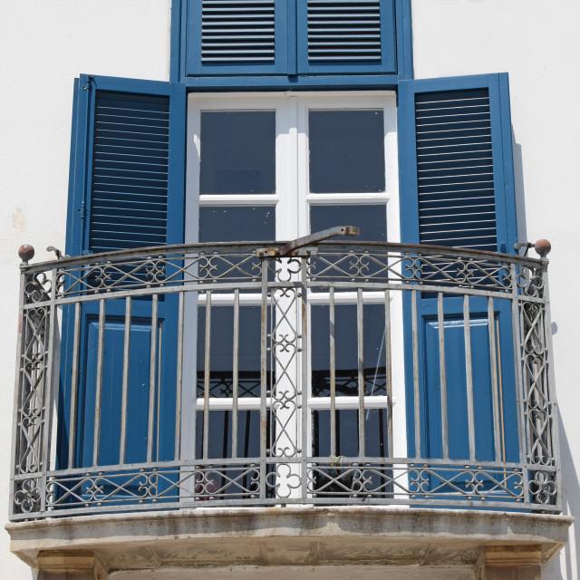 """""""veranda glass door"""" stock image"""