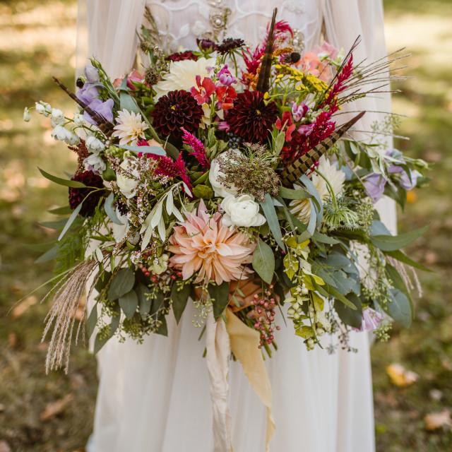 """""""Bride's Bouquet"""" stock image"""