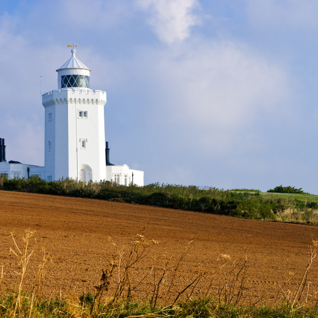 """South foreland lighthouse"" stock image"