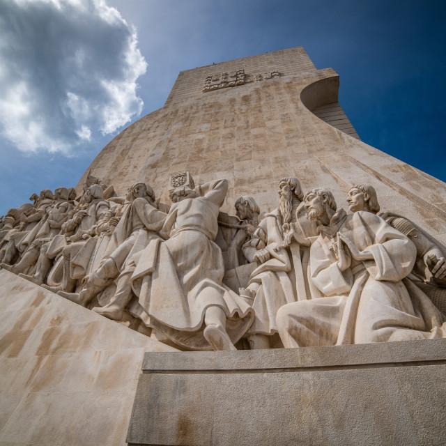 """""""Padrão dos Descobrimentos in Lisbon Portugal"""" stock image"""
