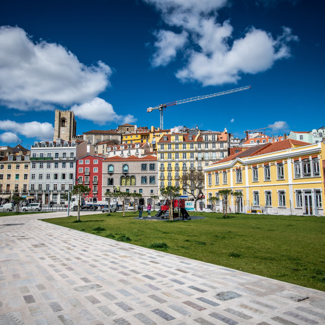 """Lisbon City in Portugal"" stock image"