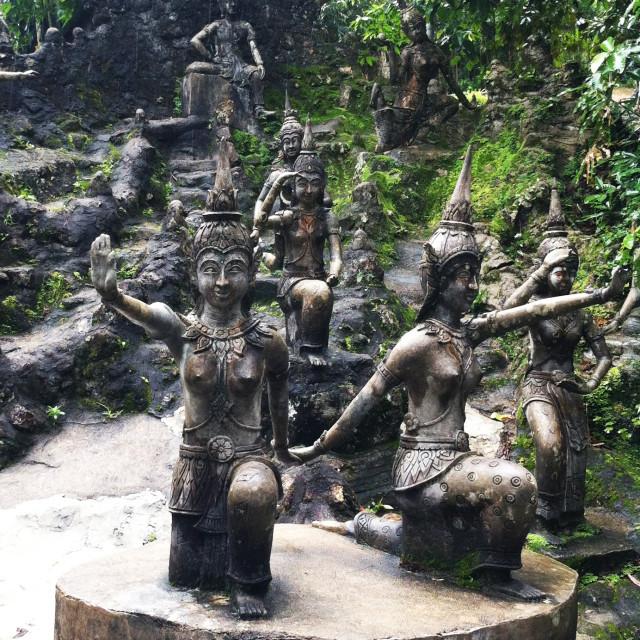 """Secret Buddha Garden, Koh Samui"" stock image"