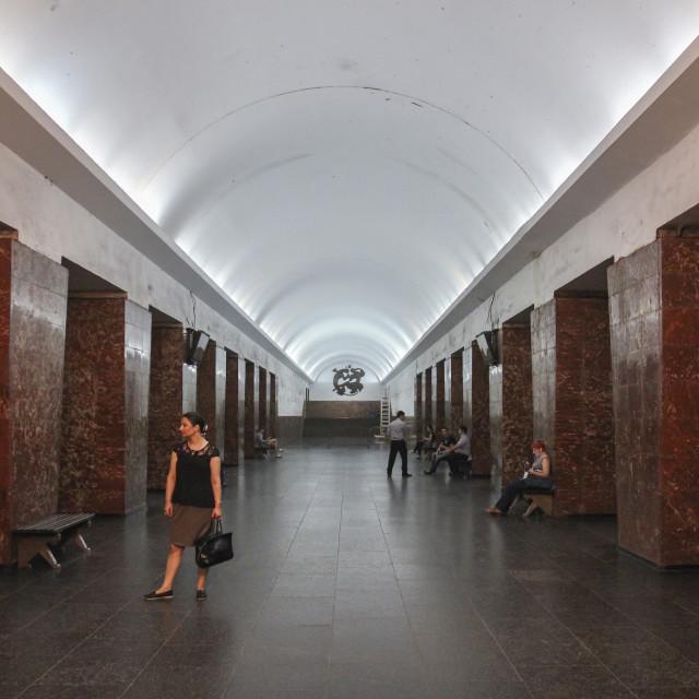 """Tbilisi Metro"" stock image"