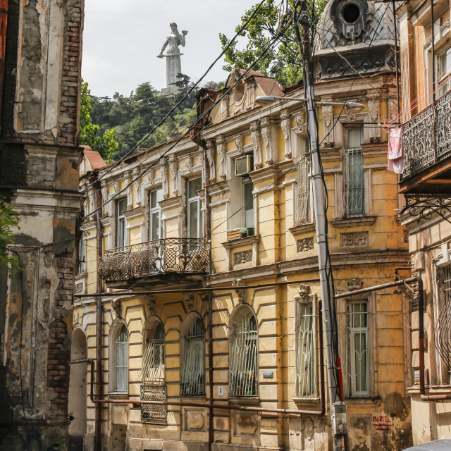"""""""Tbilisi old town"""" stock image"""