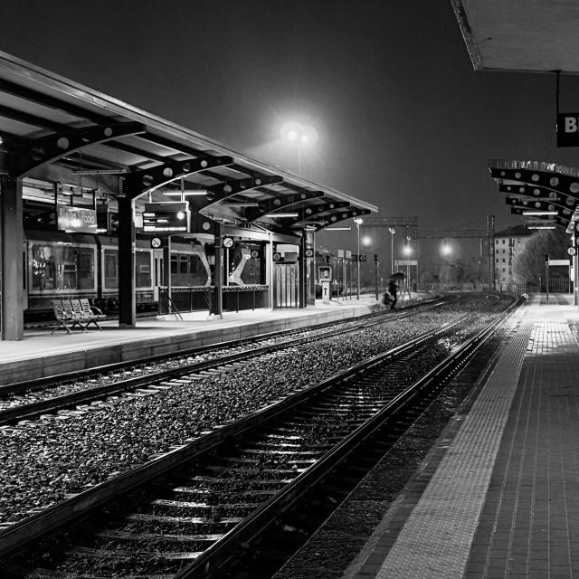 """Urban People: Train Driver"" stock image"