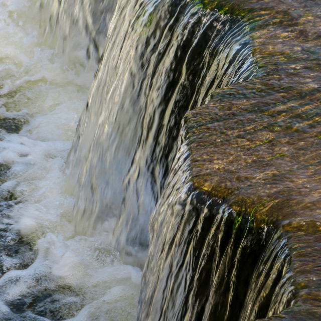 """""""Cascading Water"""" stock image"""