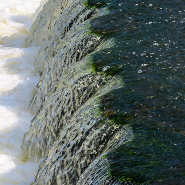"""""""Water Cascade"""" stock image"""