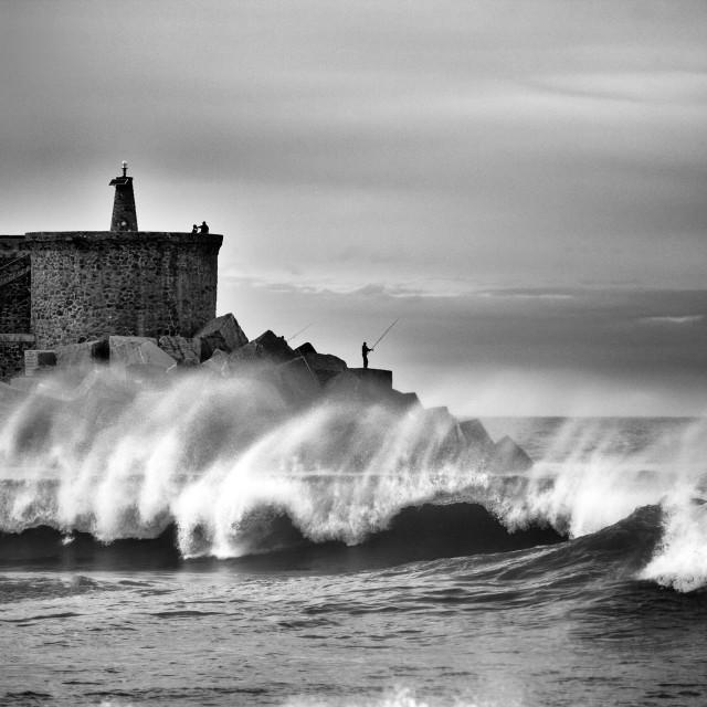"""Surf on the coast"" stock image"