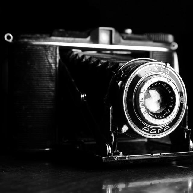 """Vintage Camera: Agfa Isolette"" stock image"