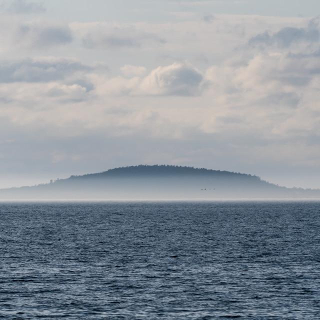"""The Swedish National Park Bla Jungfrun"" stock image"