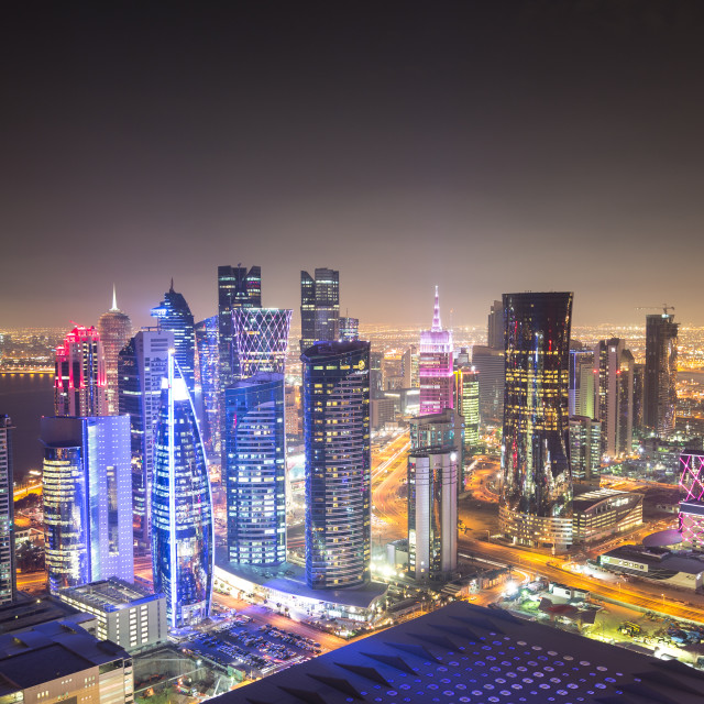 """Doha City."" stock image"