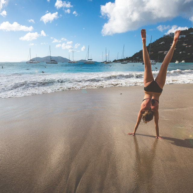 """Hand Stand"" stock image"