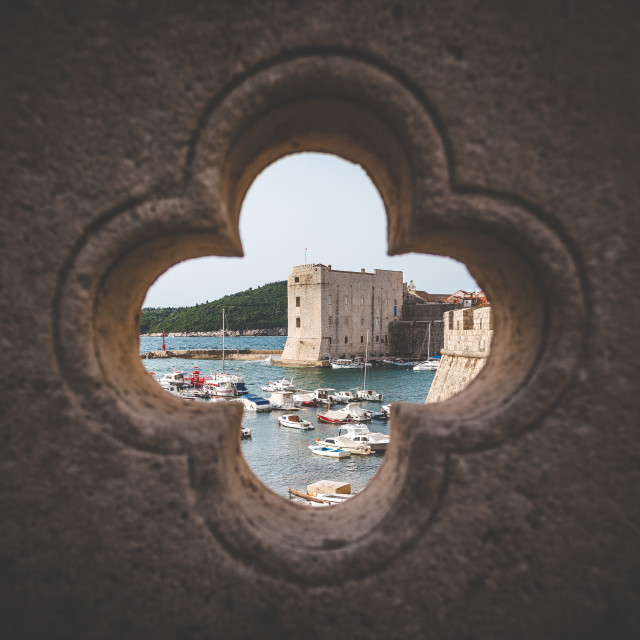 """Dubrovnik Framing."" stock image"