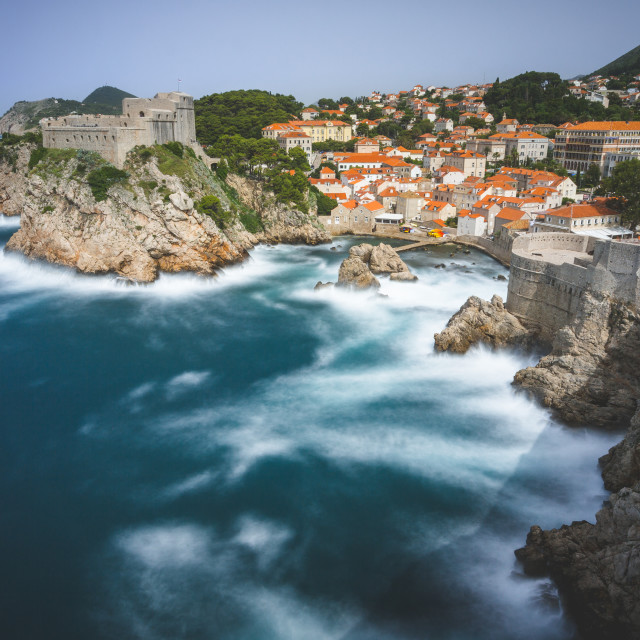 """Dubrovnik Long Exposure."" stock image"