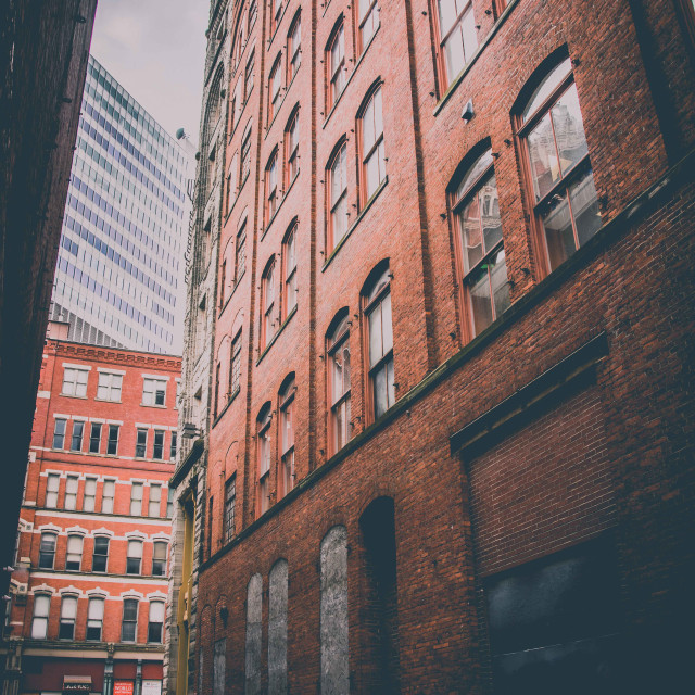 """""""Alley of Architecture"""" stock image"""