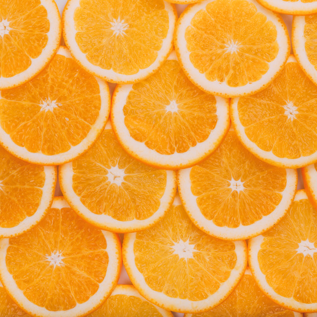 """Orange Fruit Background. Summer Oranges. Healthy Food"" stock image"