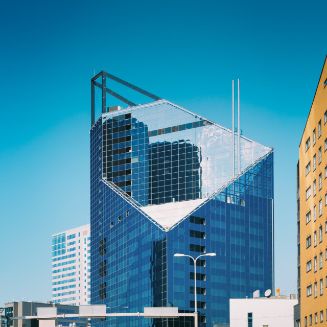 """Tallinn, Estonia. Modern Architecture In Estonian Capital. Business Center..."" stock image"