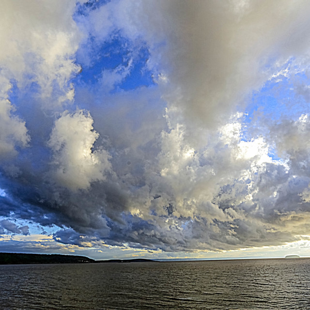 """""""Stormy clouds"""" stock image"""