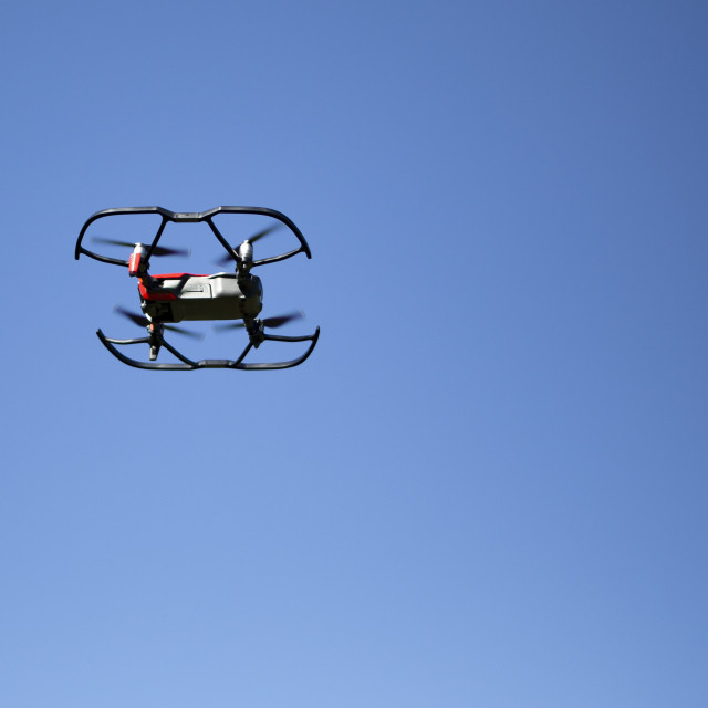 """A flying drone"" stock image"