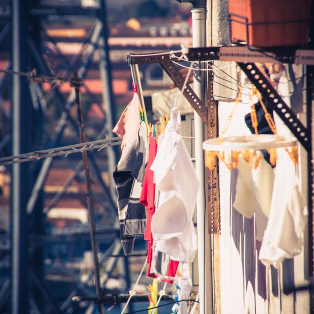 """""""Laundry"""" stock image"""