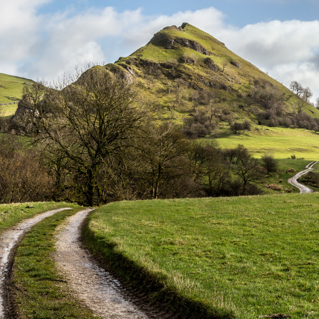 """Parkhouse Hill, Peak District National Park, UK"" stock image"
