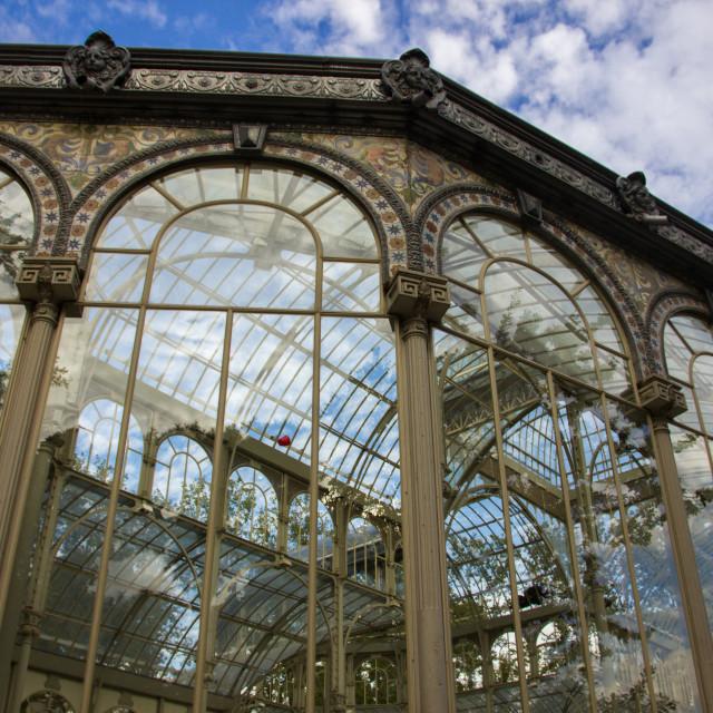 """Palacio de Cristal"" stock image"