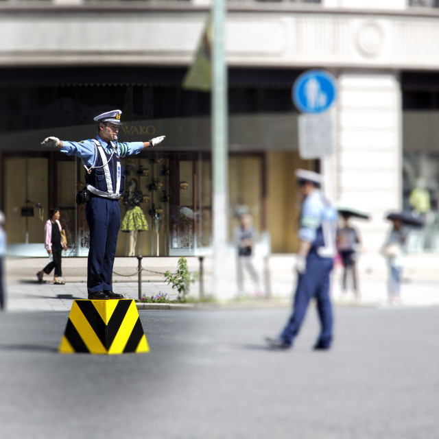 """""""Transit police"""" stock image"""