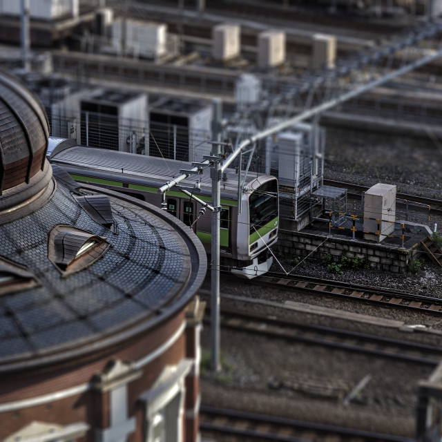 """""""Toy Trains"""" stock image"""