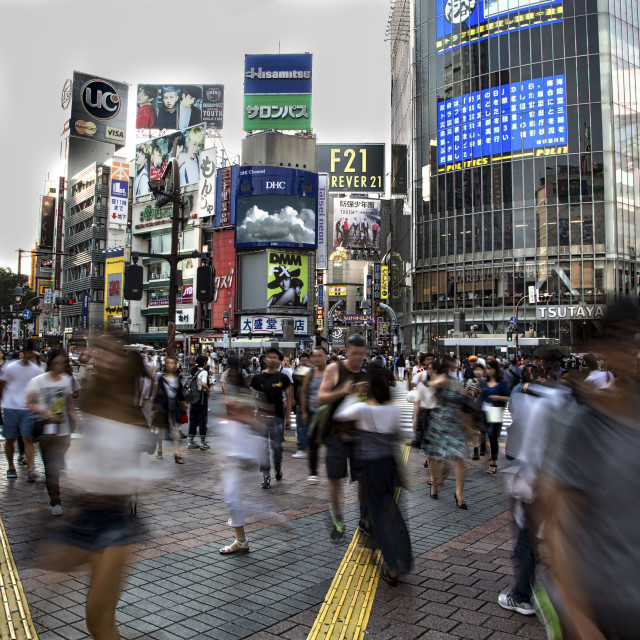 """Tokio Shibuya"" stock image"