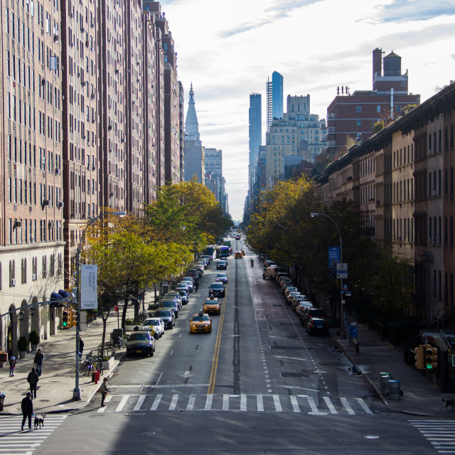 """NYC road"" stock image"