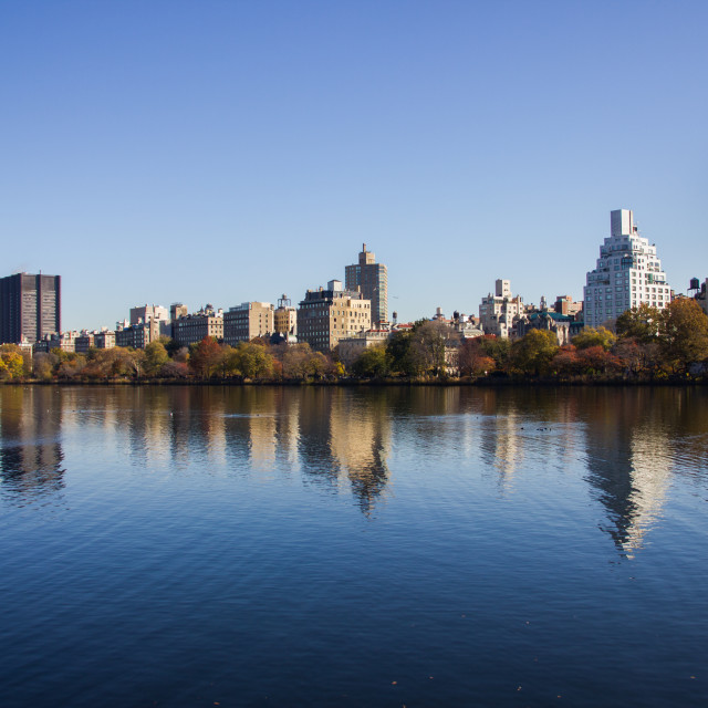 """The view from Central Park"" stock image"