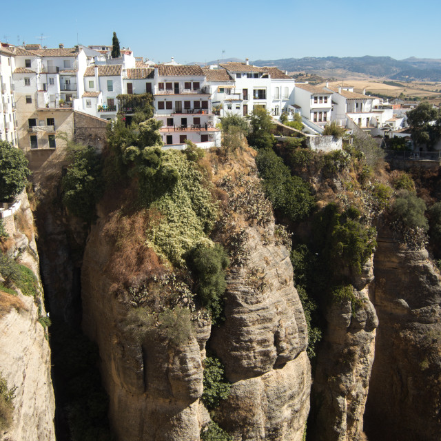 """A view of Ronda"" stock image"
