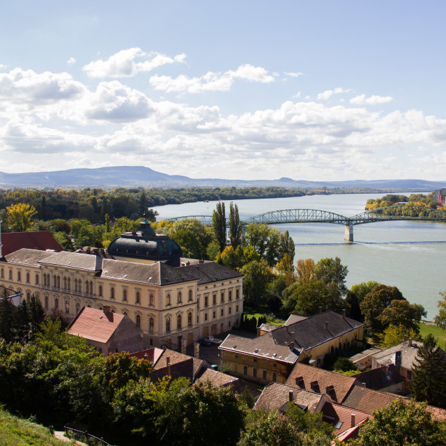 """Town in Hungary"" stock image"