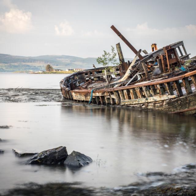"""fishing wreck"" stock image"