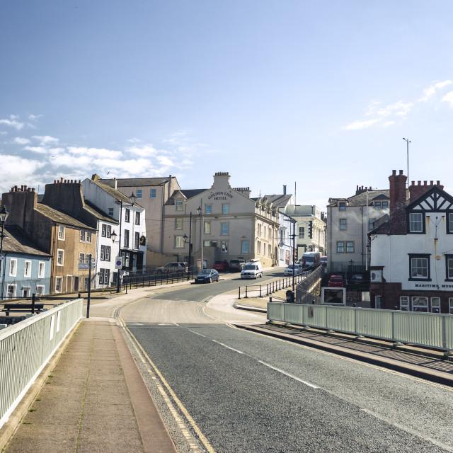 """""""Maryport, Cumbria"""" stock image"""