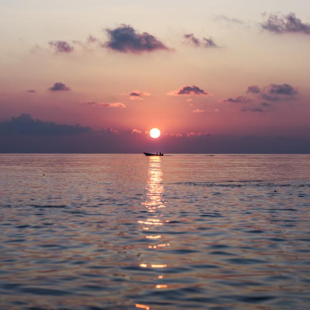 """""""My beautiful Maldives"""" stock image"""
