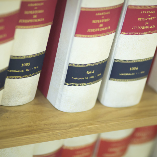 """Law firm legal books"" stock image"