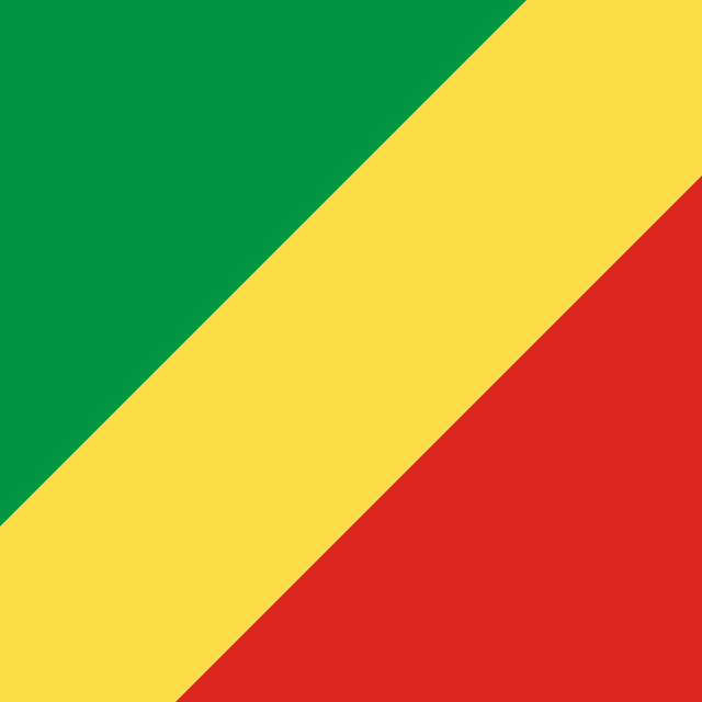 """""""Flag of the Republic of the Congo"""" stock image"""
