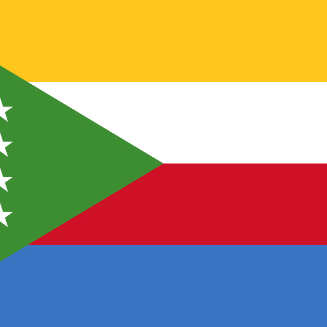 """Flag of the Comoros"" stock image"
